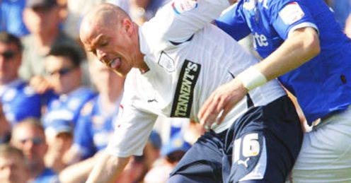 Hume: Back to his best at Deepdale and determined to help Preston earn promotion