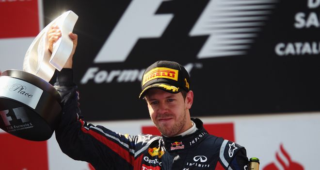 Vettel Holds Off Hamilton For Spanish GP Win - Carbonated.