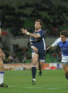 Danny Cipriani passing on run for Rebels