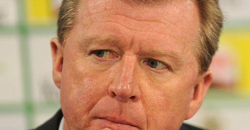 McClaren: under pressure at Forest