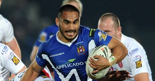 Leuluai: causing havoc at the breakdown area