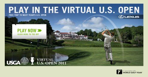 Here&#39;s a copy of the page that will be your door to the Virtual US Open