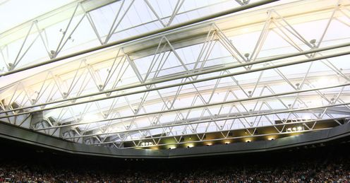 Praising the roof: Wimbledon's development plans win Barry's approval