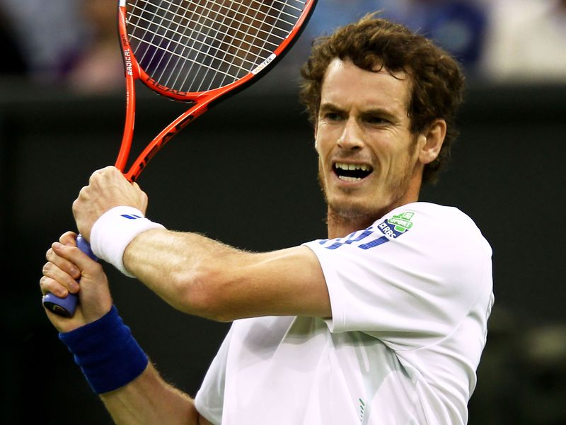 andy murray wimbledon. Murray: came through for the