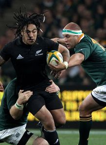 Ma a Nonu of the All Blacks v South Africa 2010