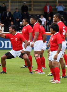 Tonga churchill haka 2011