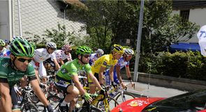 Mark Cavendish and Thomas Voeckler knew they had a tough day in store at the start...