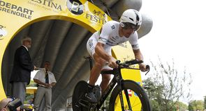 Fabian Cancellara was the clear favourite for the 42.5km test...