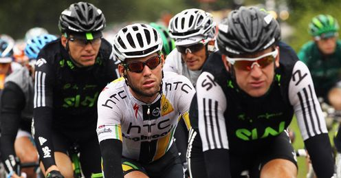 Mark Cavendish and Bradley Wiggins will be on the same team for next year's Tour