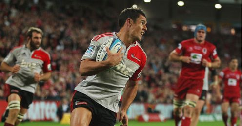 Dan Carter Crusaders v Reds Super Rugby Final