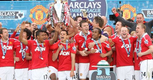 United: will be celebrating again, according to the odds