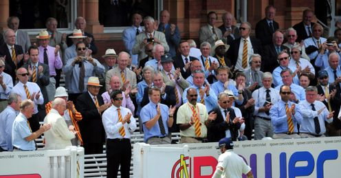 Exit: Tendulkar walks off after another failure at Lord's