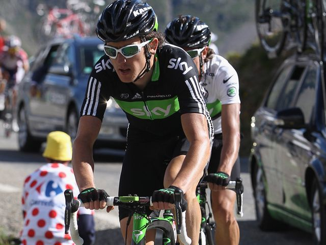 Thomas and Urán: Put in gutsy efforts on a tough day