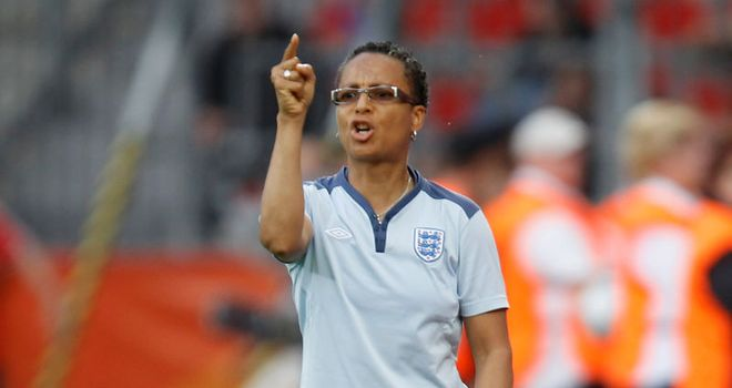 Hope Powell: Has competed in European Championships and World Cup Finals during her time in charge