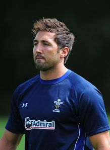 Gavin Henson wales pre RWC 2011