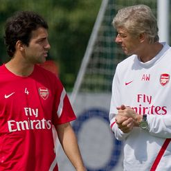 Wenger and Fabregas: Possible reunion?