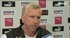 Pardew wary of Cup success