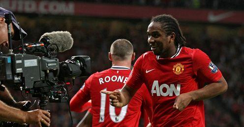 Anderson Manchester United Premier League