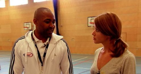 Olympic gold medallist Darren Campbell tells Charlie about the Living for Sport initiative