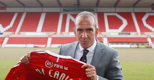 Di Canio: will be an entertaining presence in League Two