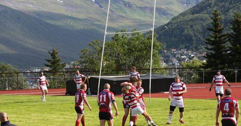 Arctic winds play havoc with the posts in Tromso