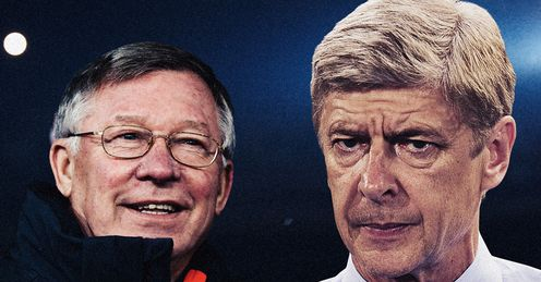 Ferguson &amp; Wenger: their teams have been scoring goals for fun of late