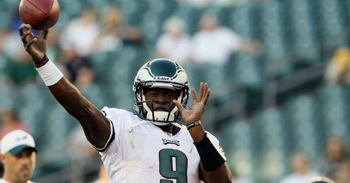 Vince Young: Is likely to step in again at quarterback to replace Michael Vick