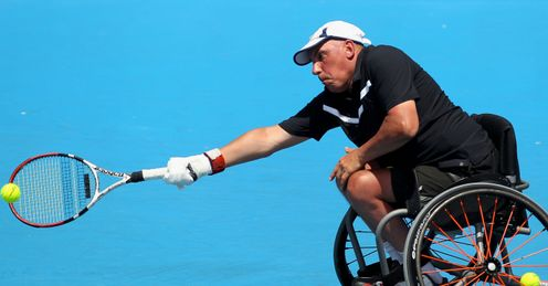 Inspitational: Peter Norfolk is the world number one