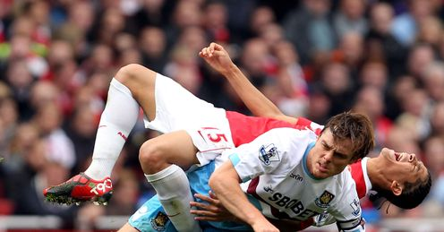 Enforcer: Arsenal need a holding midfielder like Scott Parker, says Jamie