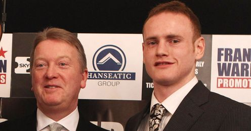 Right move: Groves had done well signing with Warren, says Glenn