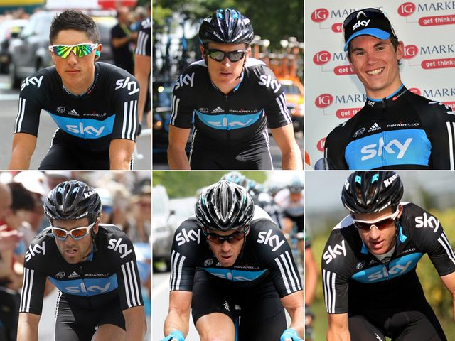 Team Sky's line-up for the Tour of Britain