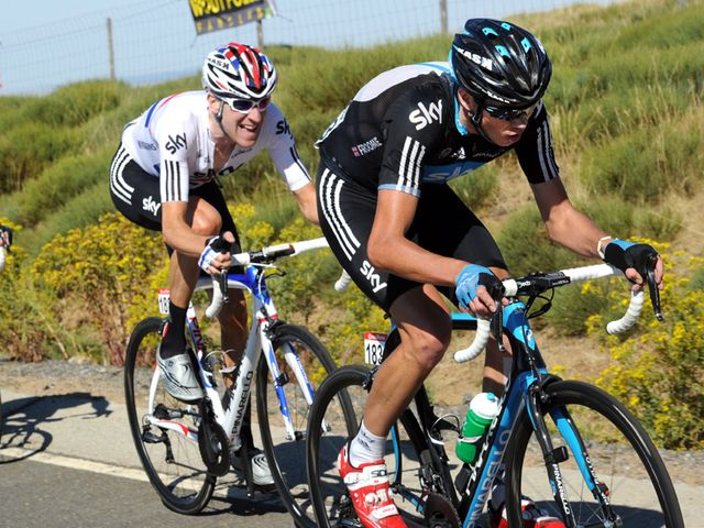 Froome and Wiggins: Felt benefit at Vuelta