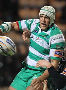 Benetton Treviso s Benjamin Vermaak v Glasgow