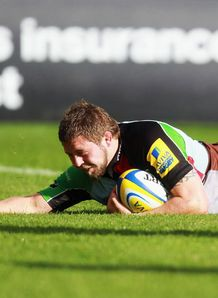 Three in a row for Quins