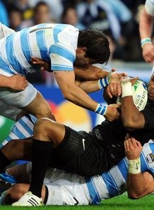 Delon Armitage contained for England against Argentina