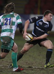 Duncan Weir glasgow v treviso
