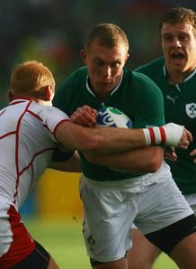 Ireland v Russia - Keith Earls