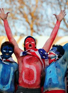 Italy v USA - fans