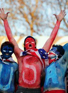 Italy v USA - fans