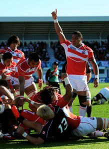 Japan v Canada - Shota Horie try