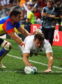 Mark Cueto number 3 England v Romania