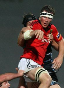 Munster s Peter O Mahony pro12 2011