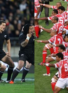 NZ v Tonga hakas
