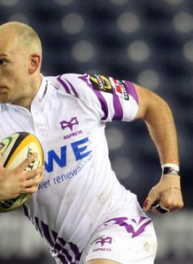 Richard Fussell Ospreys away 2011