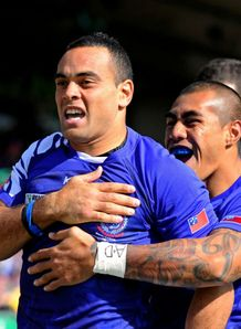 Samoa v Namibia - Kahn Fotualii
