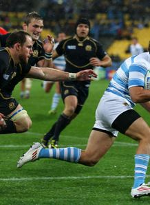 Scotland v Argentina - Lucas Amorosino try