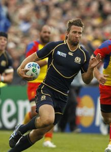 Scotland v Romania - Simon Danielli first try