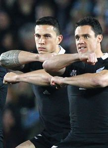dan carter sonny bill williams haka