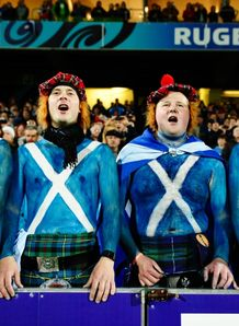 scotland fans