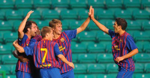 Celtic V Barca NextGen